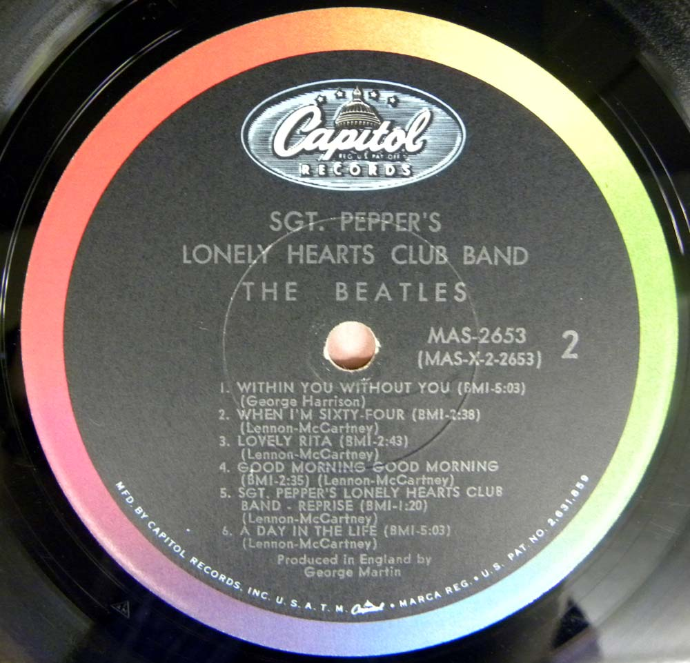 The Beatles Sgt Peppers Lonely Hearts Club Band Mono