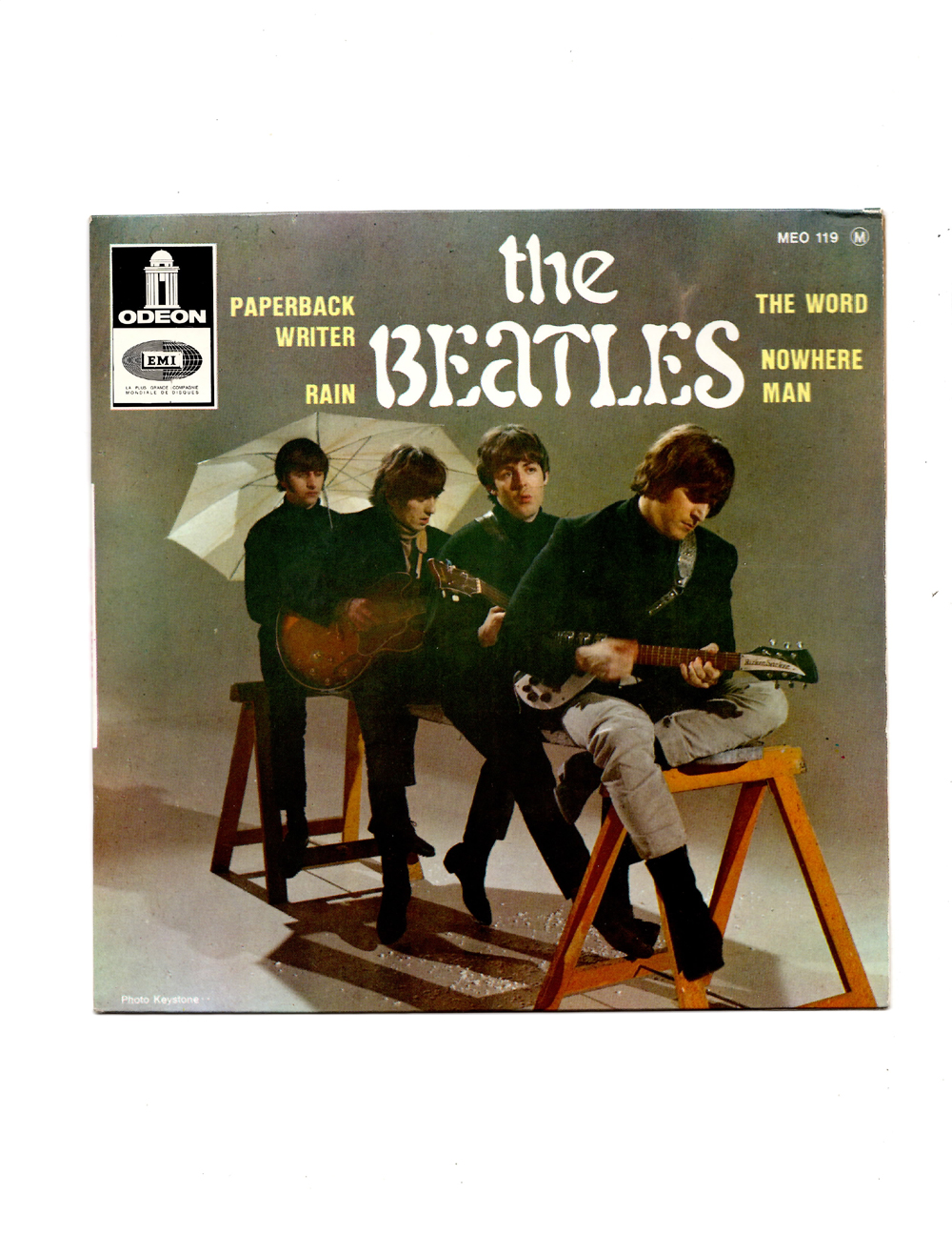 THE BEATLES - PAPERBACK WRITER EP - FRENCH ODEON - 6.5/8.0 ...