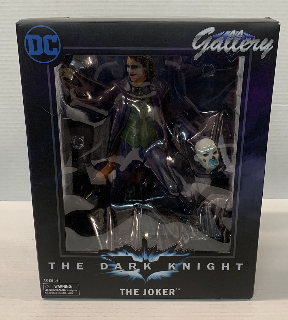 DC Galerie BATMAN DARK KNIGHT MOVIE Joker PVC Figure