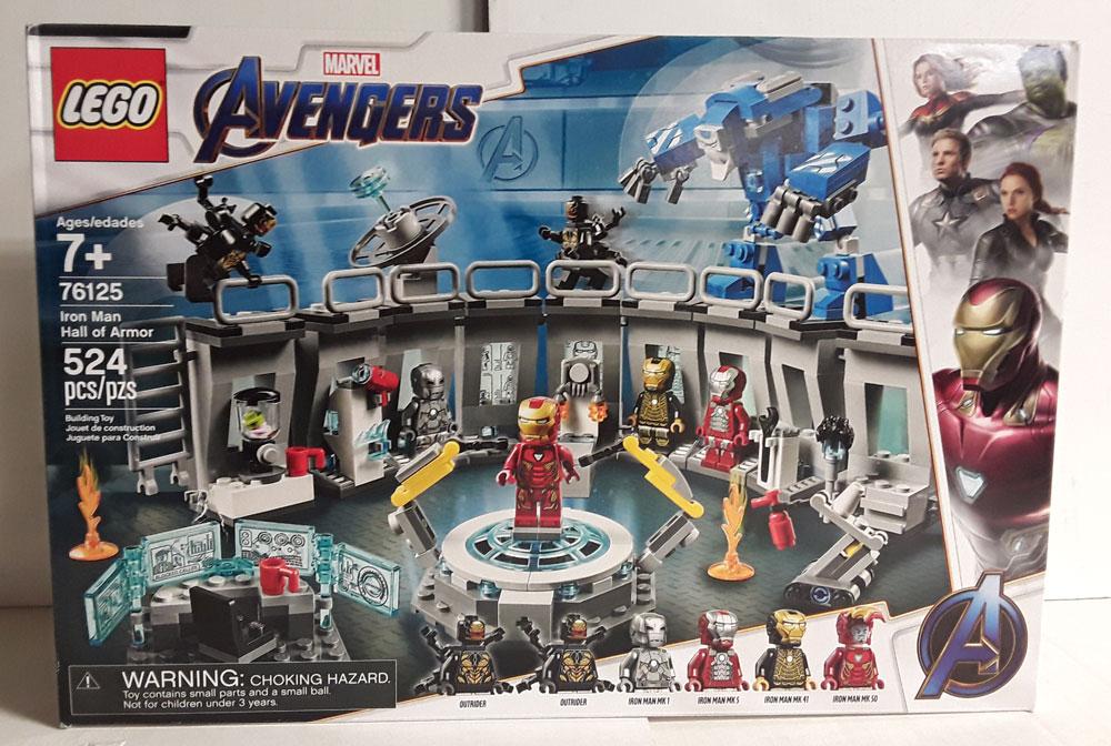 LEGO AVENGERS IRON MAN HALL OF ARMOR SEALED 76125 ...