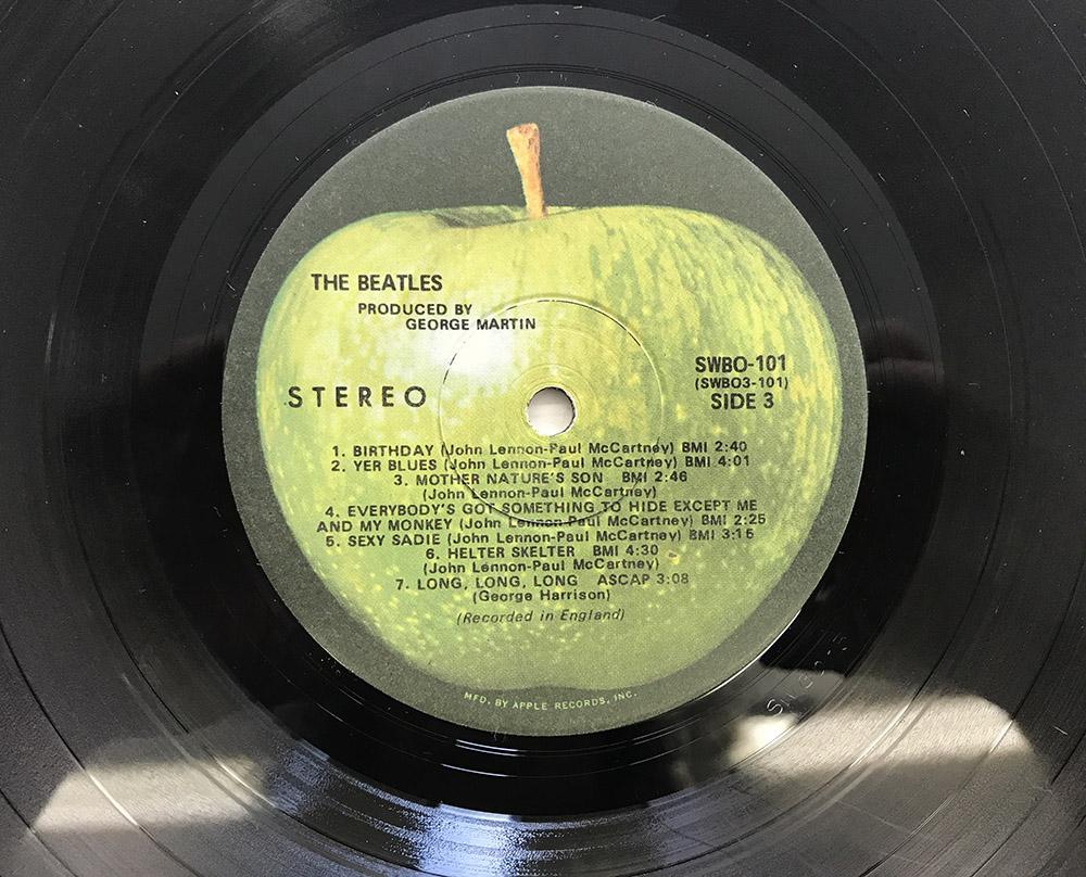 The Beatles White Album 2nd Press W Mfd By Apple Vinyl 8 0