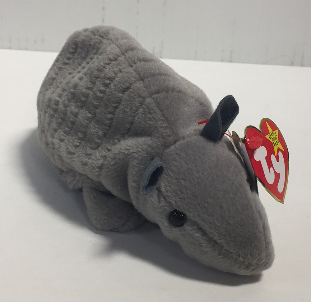 f20758c15aa Details about TANK THE ARMADILLO STYLE 4031 BEANIE BABY W  TAG ATTACHED TY  1995
